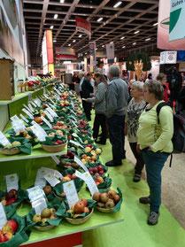 Über 200 Obstsorten lockten die Besucher...