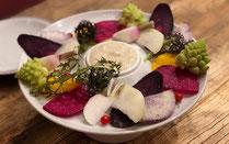 バーニャカウダー 絶対食べるべき一品として話題になったGoccia(ゴッチャ)の「トリュフのチーズリゾット」