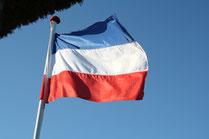 Flaggenmast von Haus Freude