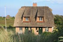 Haus Dünenfreude vor dem Wattenmeer