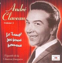 Disque 45 tours d'André Claveau