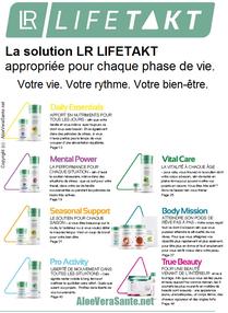 LR LifeTakt - Produits LR Health - Nos compléments alimentaires sont parfaitement adaptée aux besoins de tous: de l'enfant aux personnes à la retraite qui souhaitent conserver forme et vitalité Aloe Vera Santé et Beauté LR Lifetakt