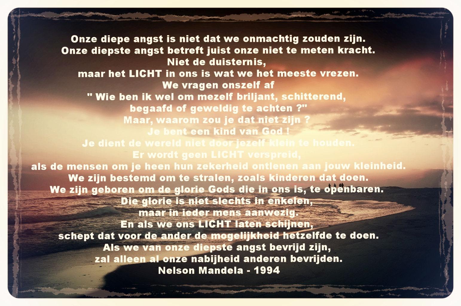 Nelson Mandela Bijzondere Gedichten En Citaten