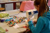 Nähmaschinen für Textilgestaltung
