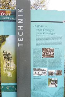 Isar-Erlebnispfad (Floßfahrt)