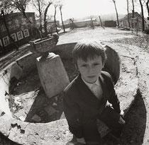Vilnius. Senasis Užupio fontanas. 1986m. Nuotr. Gintaro Burbos / The old fountain of Užupis. 1986 ( photo Gintaras Burba)
