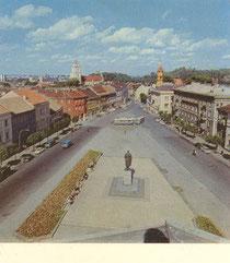 Vilnius. Gorkio gatvė. 1975m. Nuotr. M. Kuraičio / Gorkis Street. Photo by M. Kuraitis