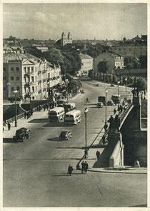 Vilnius. I.D. Černiachovskio tiltas / Chernyakhovsky Bridge