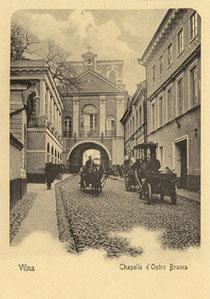 Aušros vartų koplyčia / The Gate of Dawn chapel