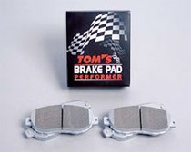 TOM'S 86用  ブレーキパッド・パフォーマ