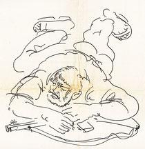 Zeichnung Hans Erni  (Bild: Zürcher Woche)