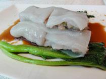 牛肉腸粉(米粉のクレープ)