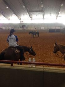 Horsemanship Clinic; Anouk - Thor, Andrin - Bobby, Jasmin - Zip