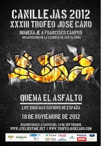 XXXIII TROFEO JOSÉ CANO - CANILLEJAS 2012