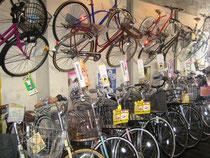 サイクルスポーツ加藤 店内 自転車 クロスバイク 写真