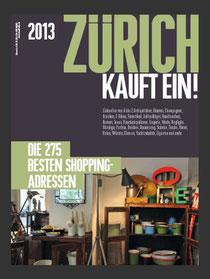 ZÜRICH KAUFT EIN! Ausgabe 2013