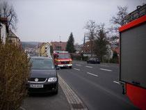 Gasgeruch Versbach 46/1 vor Ort