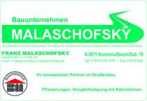 Bauunternehmen Malaschofsky