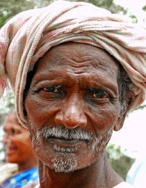 Älterer Ureinwohner.