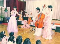 保育園、幼稚園子供向けの出張コンサート