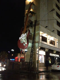 Das Hard Rock Café Beirut...