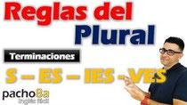 Reclas del plural S - ES - IES- VES Pacho8a