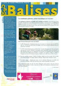 Journal des randonneurs de l'Aveyron