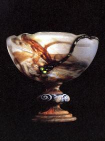 エミール・ガレ「蜻蛉」1903-04年、サントリー美術館