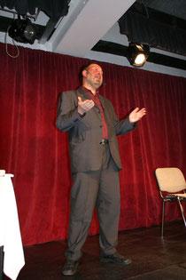 Buchpremiere - mit Standup - Comedy