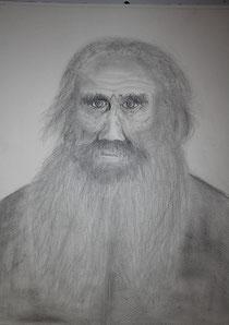 Léon Tolstoï (crayons)