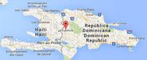 Landkarte Dominkanische Republik