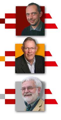 Das Team vom ISF: Dr. Reiner Schölles, Dr. Hans-Georg Schönwälder und Dr. Gerhart Tiesler