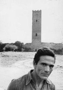 PierPaolo Pasolini alla Torre di Chia