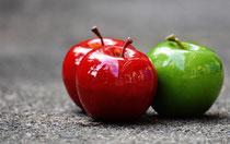 Äpfel Gesundheit Fasten