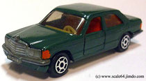 Siku Mercedes 500 SE green modified