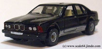 Siku BMW 735iL black modified