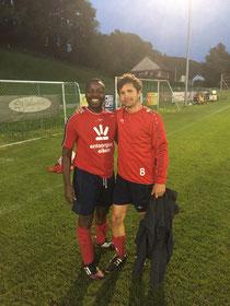 Chris Ndikumana und Roger Bättig