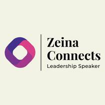 Logo Zeina Connects leadership speaker