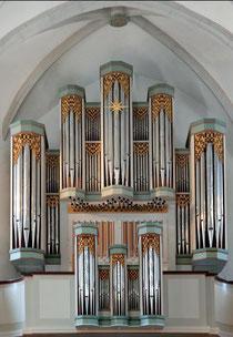 Große Orgel in der Stadtkirche Bad Wildungen