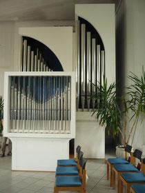 Orgel in Reinhardshausen, Spieltisch