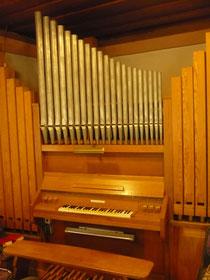 Orgel in Affoldern, Spieltisch
