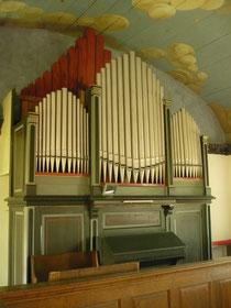 Orgel in Altwildungen, Prospekt