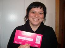 Andrea: Gewinnerin der ersten Zwischenverlosung