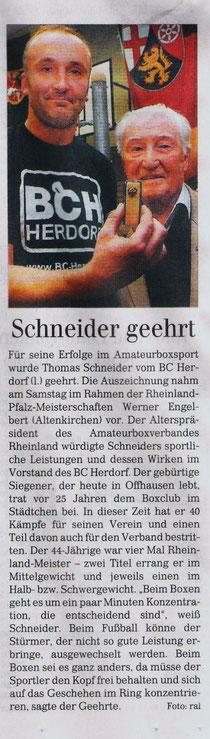 Siegener Zeitung 22.09.2009