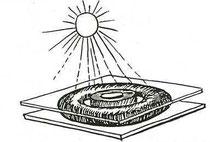 Le soleil cuisine pour nous.