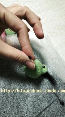 100均の羊毛フェルトキット作り方