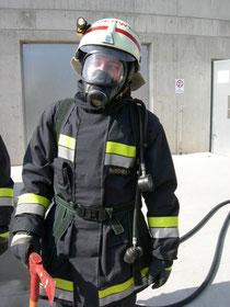 der Atemschutzgeräteträger