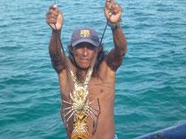 Auch Lobster gibt's frei Haus