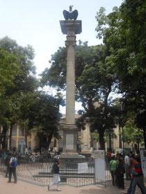 In Cochabamba hat man für ALLE Freiheitshelden der Stadt ein Denkmal errichtet: An der Spitze ist ein Condor - wen sollte man denn sonst an die Spitze stellen?