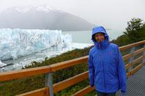 Outdoor-Kleidung kommt zum Einsatz - so ist das halt in Patagonien!